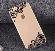 Beautiful Lace TPU Soft Case for iPhone 6