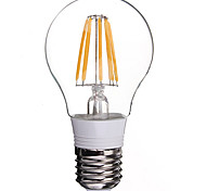 8W 800LM 3000K Warm White Plastic ball bubble filament lamp(AC85V-265V)