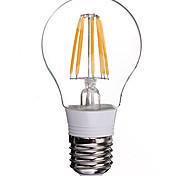 Lámparas LED de Filamento E26/E27 8 W 8 COB 800 LM Amarillo AC 85-265 V 1 pieza