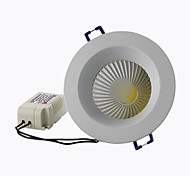 "8A Lighting 2.5"" 5W COB 450LM 2800-6500K Warm White/Cool White Recessed LED Downlights AC85-265V"