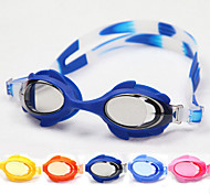 Anti-Fog Waterproof Oval Polycarbonate Fashion Sports Swimming Goggles(Assorted Color)