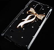 bowknot con trapano di caso per i9600 Samsung Galaxy S5