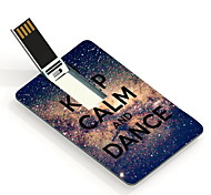 64GB Keep Calm and Dance Design Card USB Flash Drive