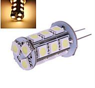 5 pcs ding yao G4 5W 18X SMD 5050 300LM 2800-3500/6000-6500K Warm White/Cool White Bi-pin Lights DC 12V