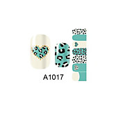 - Finger - 3D Nails Nagelaufkleber 1 Stück - 10*7*0.1 cm