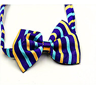Dog Tie Spring/Fall - Black / Purple - Wedding - Nylon