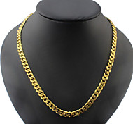 Titanium Steel Necklace Chain Men's  Necklaces Party/Casual 1pc