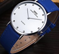 Men's Simple Thin Section Dress Watch Quartz Analog Water Resistant