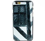 caso difícil de madeira padrão de janelas de idade para o iPhone 6