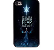 Are You Ready Design Aluminum Hard Case for iPhone 4/4S