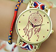 The New Women's Original Ethnic Style Exquisite Hand-woven Dreamcatcher DIY Balloon Watches