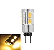 Bombillas LED de Mazorca ding yao G4 5W 10 SMD 5730 200 LM Blanco Cálido / Blanco Fresco DC 12 V 1 pieza