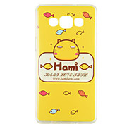 Colored Drawing Silica Gel Soft Case for Samsung Galaxy A7