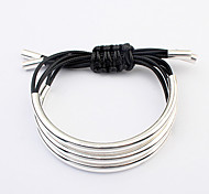 European Style Fashion Handmade Braided Multilayer Bracelet