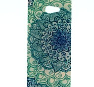 The Peacock Pattern Soft TPU Case for Sony Xperia M2