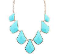 European Style Fashion Geometry Splice Necklace