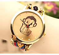 Fashion Women's Monkey National Weaving South Korea Style Chain DIY Watch Cool Watches Unique Watches