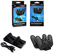 Dual USB Charger Dock Station Stand For PS4 Wireless Controller