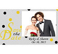 Business Cards 200pcs Save the Date Cards Spot Photo Pattern 2 Sided Printing of Fine Art Filmed Paper