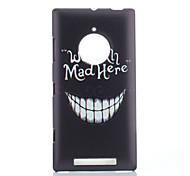 asunto magia SPIDER® gran patrón de la sonrisa de plástico de protección con protector de pantalla para Nokia Lumia 830