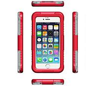 impermeável caso à prova de poeira à prova de choque armadura duro protetor case cobertura para iphone6s maçã plus / 6 mais (cores sortidas)