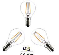 Lampade LED a incandescenza 2 COB ONDENN A E14 2 W 200 LM Bianco caldo 3 pezzi AC 220-240 V