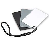 JJC gc 2 18 degrés zéro gris carte résistant à la balance des blancs bord étanche du conseil d'administration gris noir et blanc