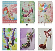 9.7 Inch High Heels Pattern with Stand Case for iPad Air 2/iPad 6