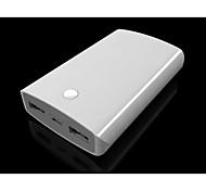 7800mah batería puerto usb extermal banco de la energía yc-yda23 para el iphone 4s / 5s / 6/6 Plus samsung s4 / s5 / lg / HTC /