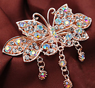 Fashion Beautiful Butterfly Cute Tassel Hairpins