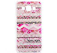 Pink Stripes Pattern PC Hard Case for Samsung Galaxy A5