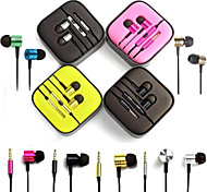 GYM High-quality Earphone with Mic and Line Control for Android Phones(Assorted Color)