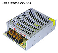 AC input 85-265V,DC output 100W 12V 8.5A switching power supply for led strip lights