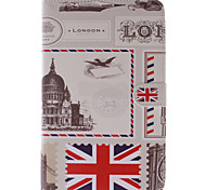 Stamp Design Restoring Sncient Ways PU Leather with Stand Case for Samsung Galaxy Tab 3 Lite T110/T114