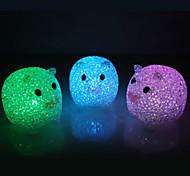 Multicolor Pig Pattern Night Light