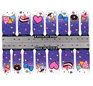 Ultra-Thin Nail Stickers Nail Stick Decals Patch-1034