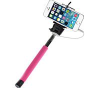 mowto z01 Hand Selfie Stange Einbeinstativ für GOPRO HERO&Auslöser für ios / android Handys-pink