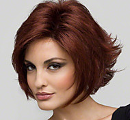 Fashion Beautiful Wine Red Short Hair Wig Personality