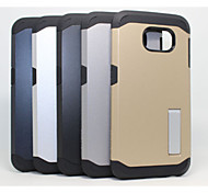 ABS Green Plastic Armor with Stand Fangshuai Phone Protective Shell for Samsung GALAXY S6 (Assorted Colors)