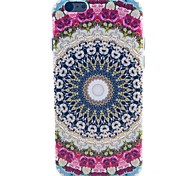 The Pink Flower Pattern TPU Soft Case for iPhone 5C