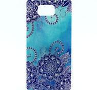 For Samsung Galaxy Case Pattern Case Back Cover Case Mandala TPU Samsung Alpha