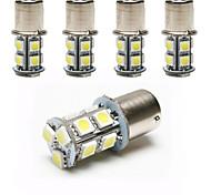 Luces Decorativas Decorativa Ding Yao 1156 5 W 13 SMD 5050 150-200 LM Blanco Fresco DC 12 V 5 piezas