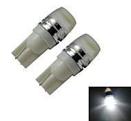 T10 Luci da arredo 1 LED ad alta intesità 90lm lm Luce fredda DC 12 V 2 pezzi