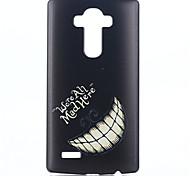 Für LG Hülle Muster Hülle Rückseitenabdeckung Hülle Schwarz & Weiß Hart PC LG LG G4