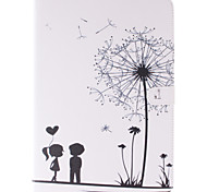 Dandelion and the Design of Lovers PU Leather with Stand Case for Samsung T800/T805C/Tab S 10.5 Tablet