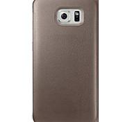 Big D de haute qualité corps entier cas flip pour Samsung Galaxy bord de la g9250 (couleurs assorties)