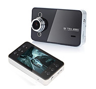 2.5 Inch K6000 Car DVR Traveling Driving Data Recorder Camcorder Vehicle Camera Black
