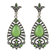 Fashion Green Stone Women New Model Earrings