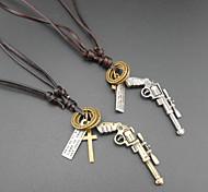 Fashion Cross Alloy Pendant Necklace