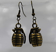 Fashion Women Alloy Earring Grenade Style Drop Earrings Daily/Casual